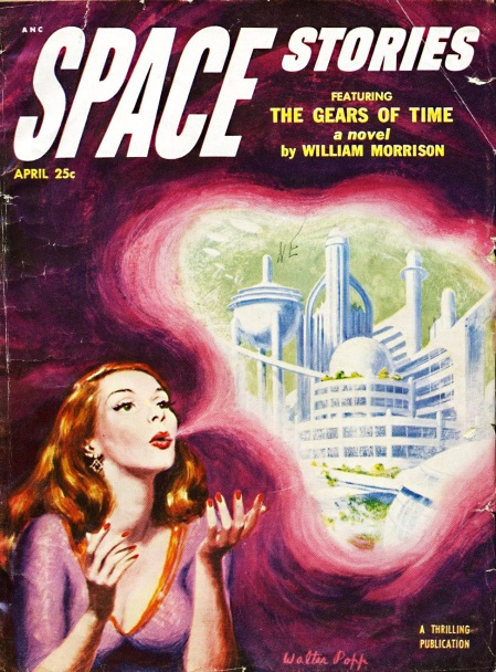 Space Stories, april 1953