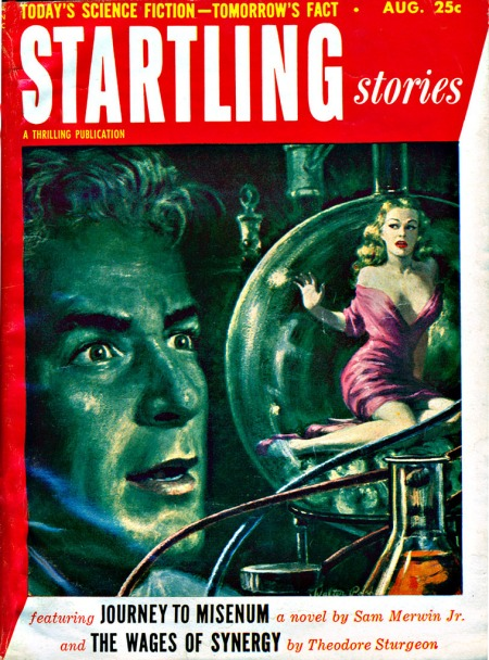 Startling Stories, august 1953