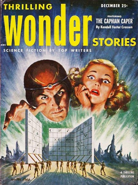 Thrilling Wonder Stories, december 1952