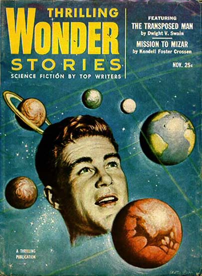 Thrilling Wonder Stories, november 1953
