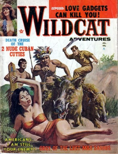 WILDCAT ADVENTURES, juli 1962