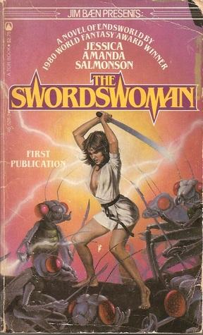 Paperback, Tor 1982. Salmonsons krigerkvinde-roman