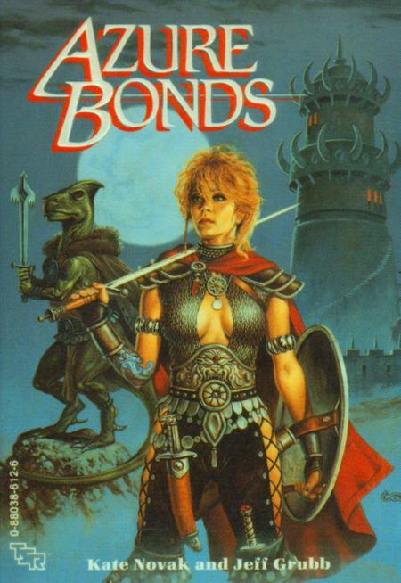 Paperback, TSR 1988. En Clyde Caldwell-forside af den klassiske slags