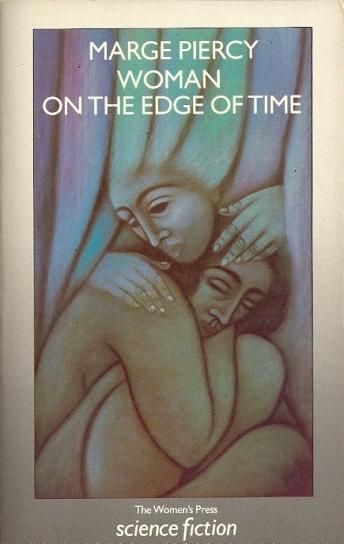 Paperback, The Women's Press 1987. Forsiden er tegnet af Phyllis Mahon