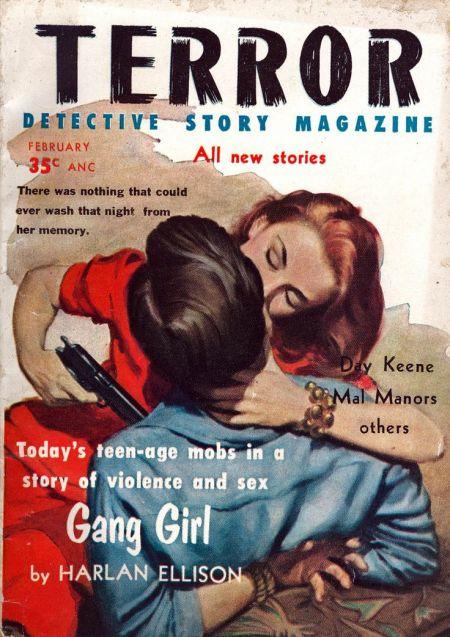 Terror Detective Story Magazine, februar 1957