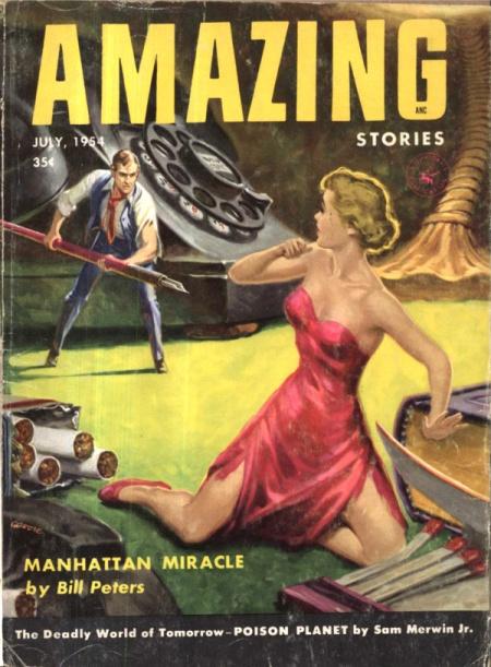 AMAZING Stories, juli 1954