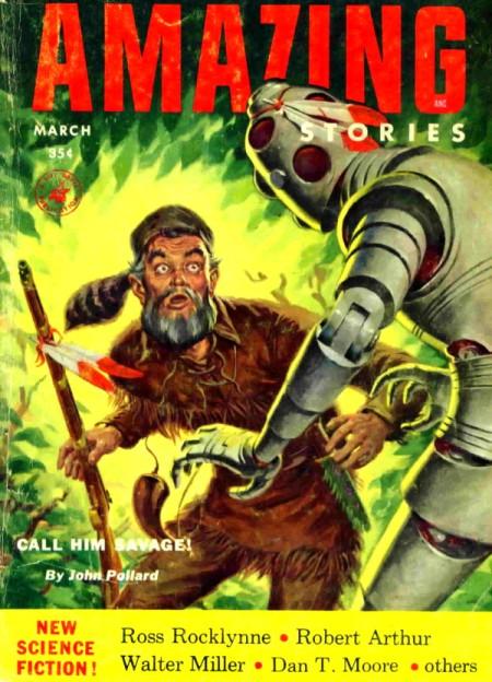 AMAZING Stories, marts 1954