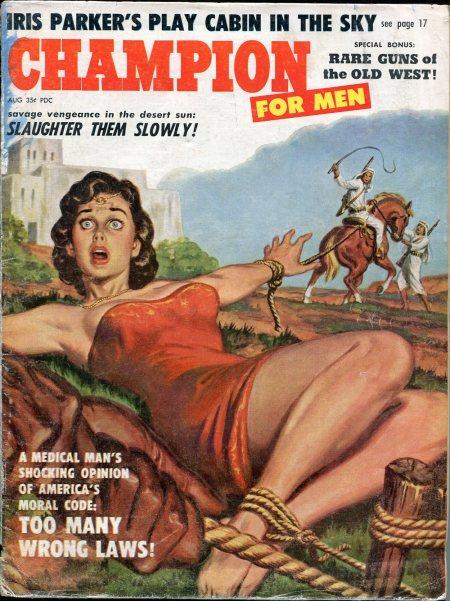 CHAMPION FOR MEN, august 1959