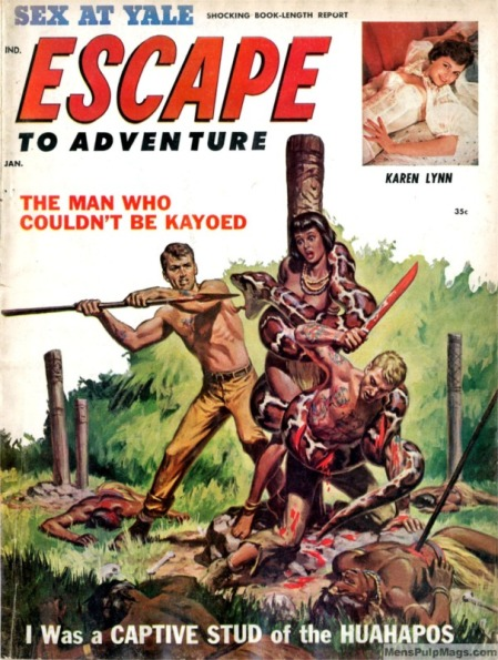 ESCAPE TO ADVENTURE, januar 1961