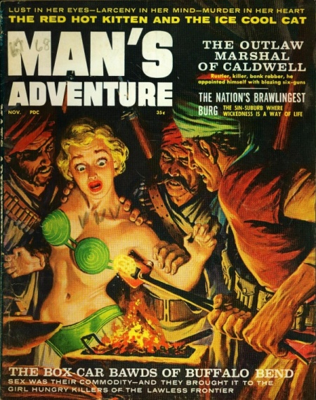 MAN'S ADVENTURE, november 1959