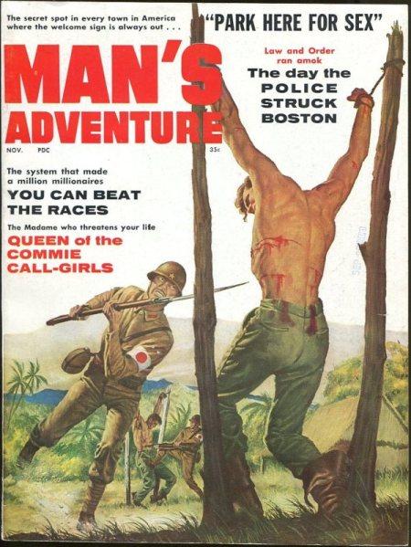 MAN'S ADVENTURE, november 1960