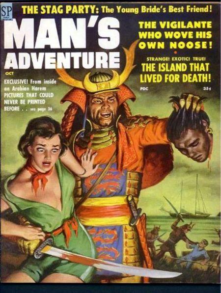 MAN'S ADVENTURE, oktober 1958
