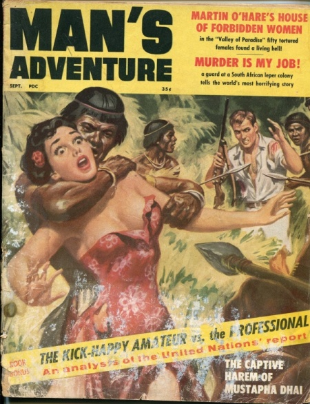 MAN'S ADVENTURE, september 1959