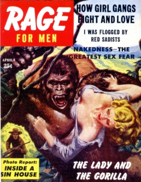 RAGE for Men, april 1957