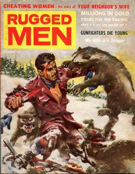 Rugged Men, november 1957