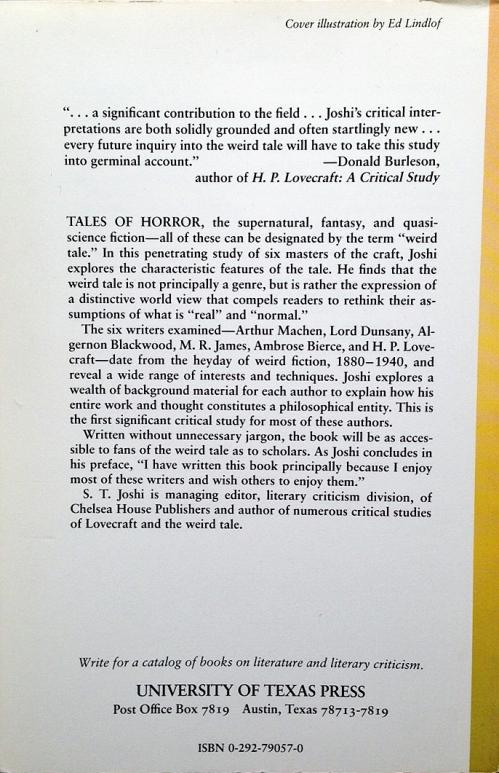 Paperback, University of Texas Press 1990