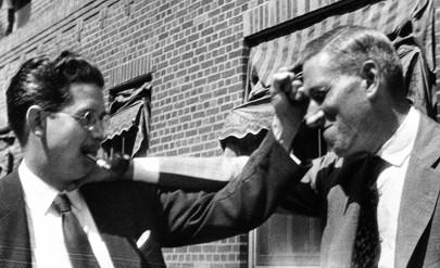 Perlevenner - Frank Belknap Long (27. april 1901 – 3. januar 1994) og Howard Phillips Lovecraft (20. august 1890 – 15. marts 1937)