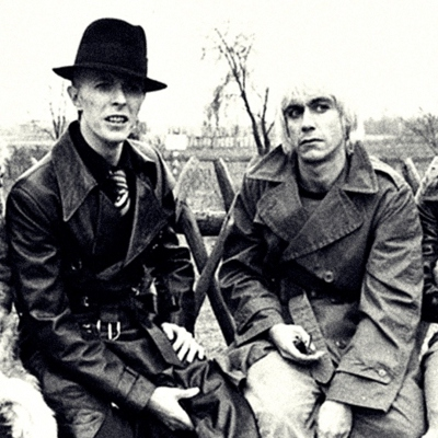David Bowie og Iggy Pop