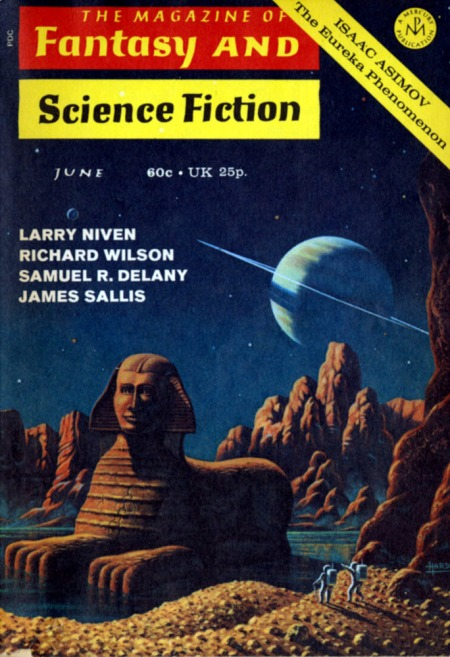 Magazine of Fantasy and Science Fiction, juni 1971