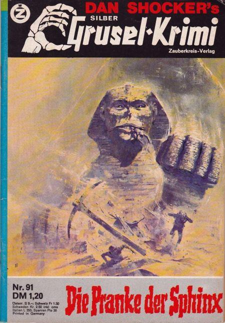 Silber Grusel-Krimi Nr. 91, 1982