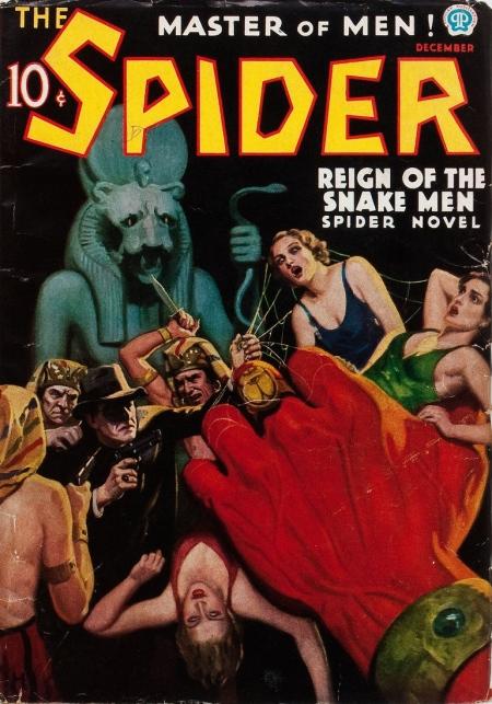 The Spider, december 1936