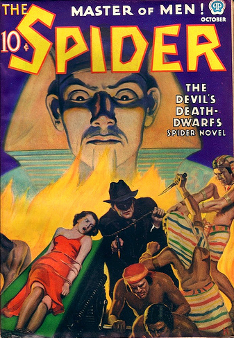The Spider, oktober 1936