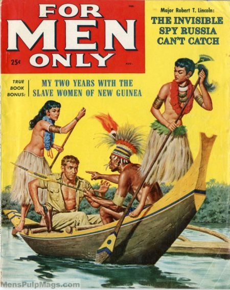 For Men Only, august 1958