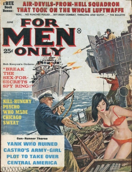 For Men Only, juni 1963