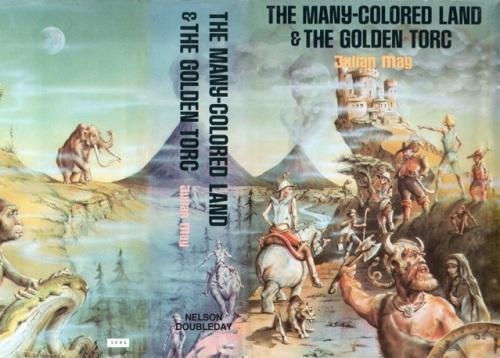 Hardcover, Nelson-Doubleday 1982. Den  fine, fine forside er udført af Ron Dilg