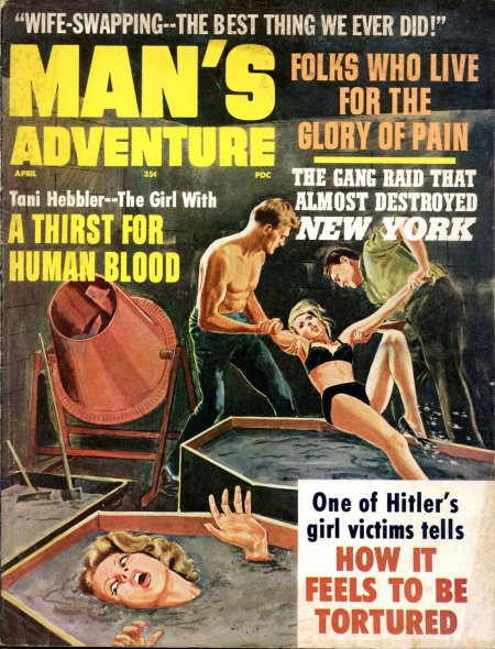 Man's Adventure, april 1966