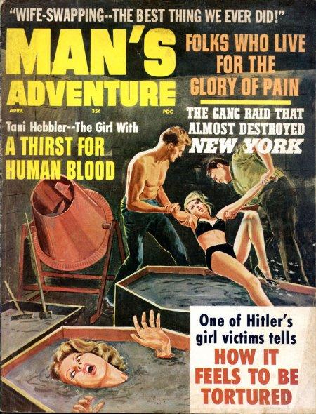 Man's Adventure, april 1966