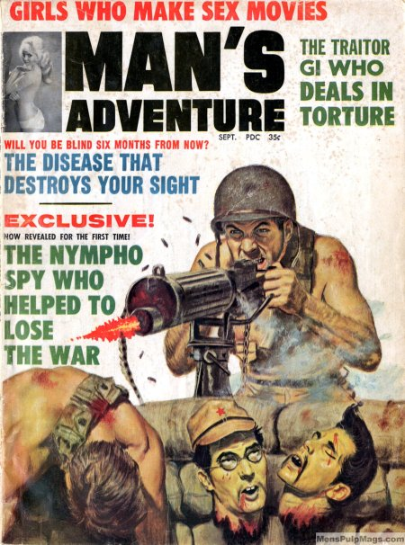 Man's Adventure, september 1965