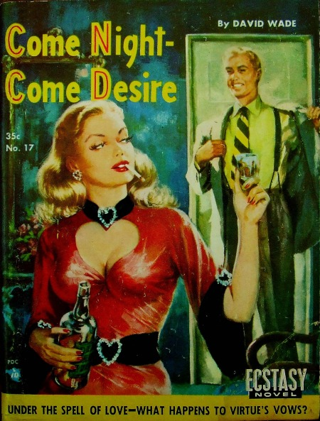 Paperback, Ecstasy Books 1952