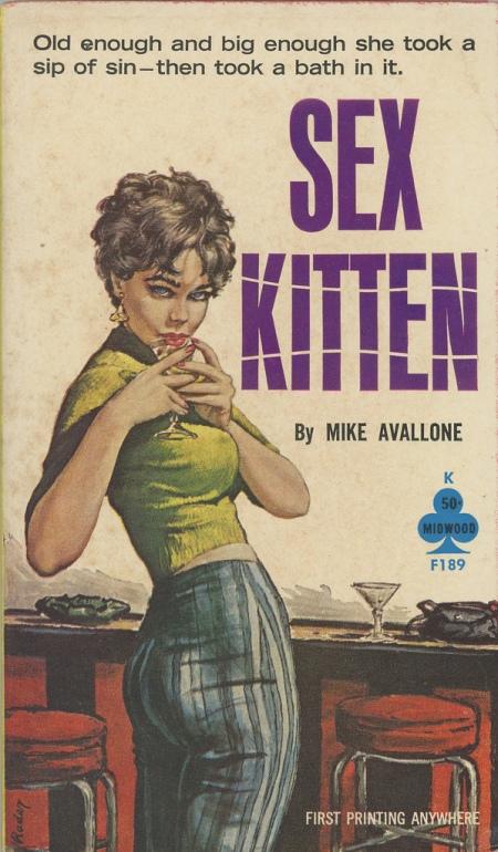 Paperback, Midwood 1959