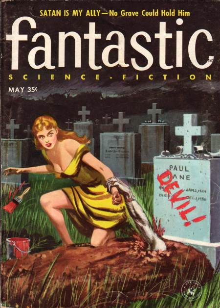 Fantastic Science Fiction Magazine, maj 1957