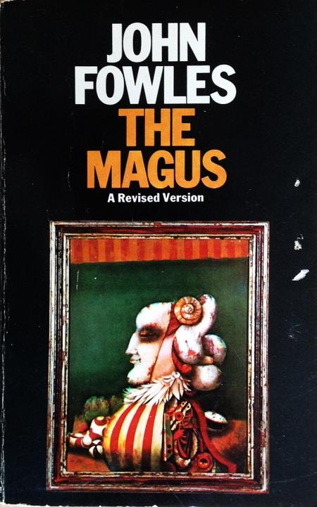 """Paperback, Panther Books 1977. Forsiden viser ganske passende maleriet """"Marionetten"""" af Karl Korab"""