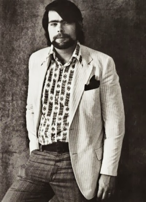 Stephen Edwin King (født 21. september 1947) anno 1974