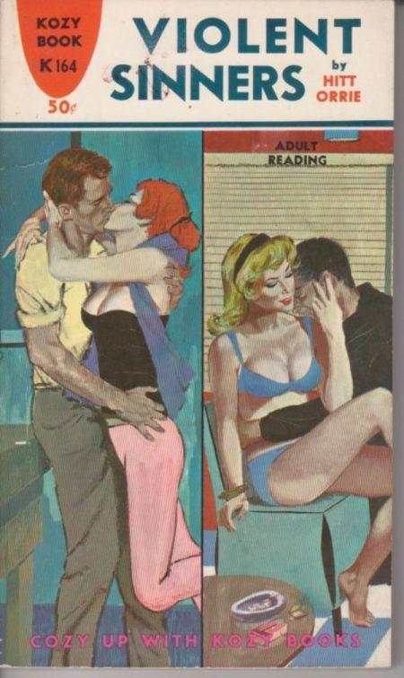 Paperback, Kozy Books 1962