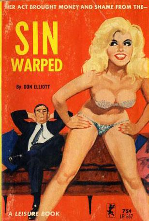 Paperback, Leisure Books 1962