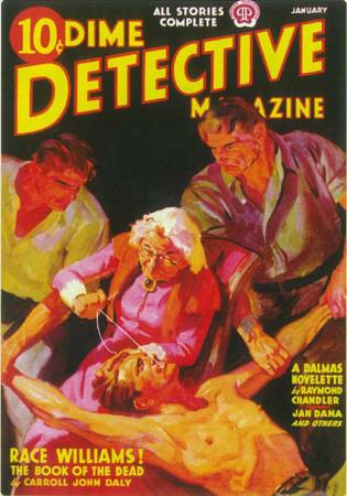 Dime Detective Magazine, januar 1938