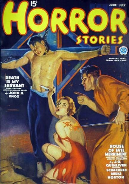 Horror Stories, juni-juli 1936