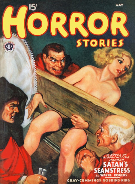 Horror Stories, maj 1940